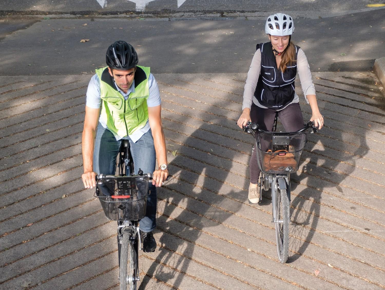 Empresa francesa cria airbag inteligente para ciclistas