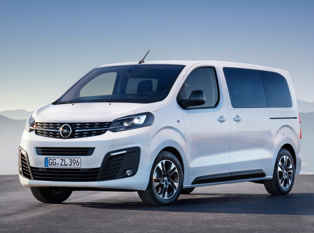 Opel Zafira Life aparece em registros de patente no Brasil