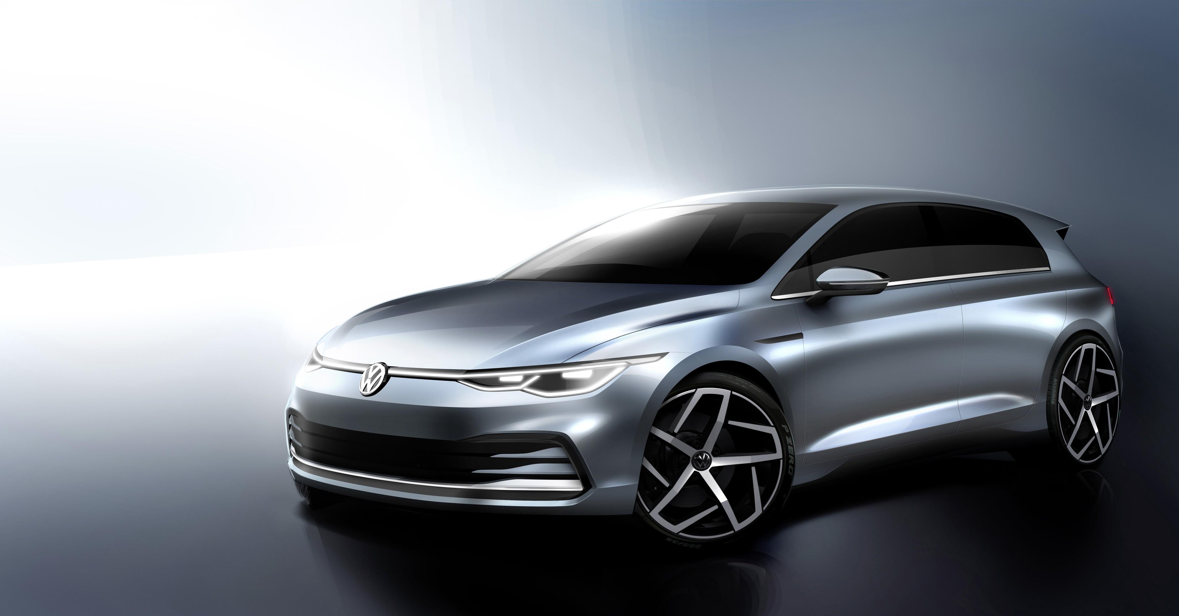 Volkswagen Golf tem visual da nova geração revelado