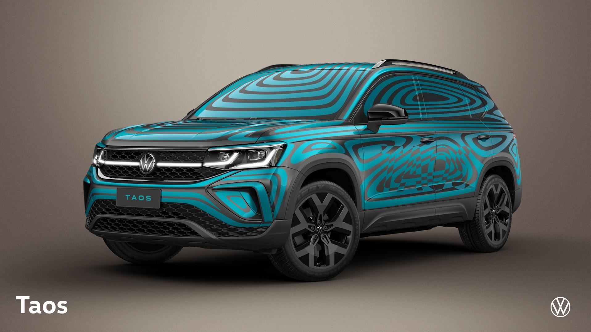 Volkswagen Taos tem primeiras imagens reveladas antes do lançamento