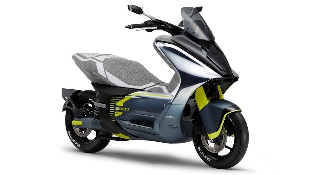 Yamaha prepara scooter elétrico 'que anda como um 125 cc'